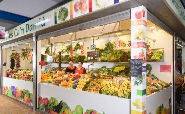 Frutas y Verduras Ca'n Damià - Mercat Pere Garau