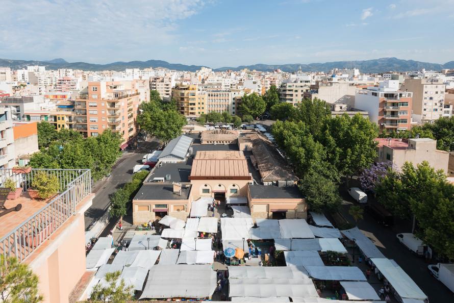 Vista exterior Mercat Pere Garau