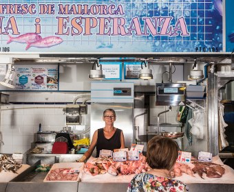 Mercat Pere Garau - Peix Fresc de Mallorca n'Esperanza, Pto 105