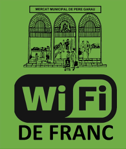 logo wifi gratis al Mercat de Pere Garau