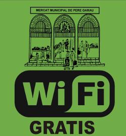 logo wifi gratis en el Mercado de Pere Garau